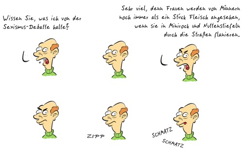 Cartoon: Kommentar24 (medium) by Rob tagged kommentar,sexismus,debatte,brüderle,macho,frau,frauen,masturbieren,wichsen,commentary,guy,sexism,debate,masturbate,jerking,beating,girls,woman,women