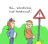 Cartoon: Dreieck (small) by Rob tagged dreieck,triangle,politesse,cop,pee,pisse,urin,harn