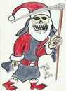 Cartoon: DEATH NOEL (small) by AHMEDSAMIRFARID tagged ahmed,samir,farid,papa,noel,egyptair,tree,nature,artist,cartoon,caricature,alaa,waly,eldin,egypt,revolution,nice,beutifull