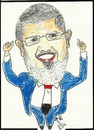 Cartoon: ISLAMIC PRESIDENCY (small) by AHMEDSAMIRFARID tagged ahmed,samir,farid,morsi,morsy,cartoon,caricature