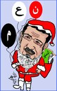 Cartoon: MURSY NOEL (small) by AHMEDSAMIRFARID tagged chrestmas ahmed samir farid egypt president mursy revolution
