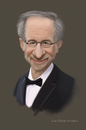 Cartoon: Caricature of Steven Spielberg (small) by Luis Benitez tagged steven,spielberg,caricature,digital