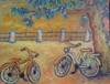 Cartoon: shall we go out together? (small) by iris lydia tagged bicycle fahrrad ausflug date dating day out love