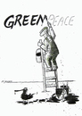 Cartoon: greenpeace (small) by o-sekoer tagged global,warming