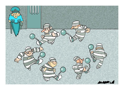 Cartoon: Soccer (medium) by Amorim tagged 2018,fifa,world,cup,russia
