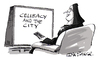 Cartoon: Celibacy In The City (small) by Ian Baker tagged sex,in,the,city,celibacy,religion,nun,nuns,tv,show,watch,ian,baker,cartoon,catholic,remote,control,habit