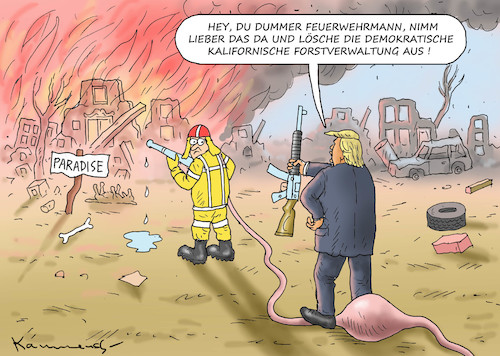 Cartoon: FIRE AND FURY (medium) by marian kamensky tagged obama,trump,präsidentenwahlen,usa,baba,vanga,republikaner,inauguration,demokraten,wikileaks,faschismus,kalifornische,brände,jamal,khashoggi,obama,trump,präsidentenwahlen,usa,baba,vanga,republikaner,inauguration,demokraten,wikileaks,faschismus,kalifornische,brände,jamal,khashoggi