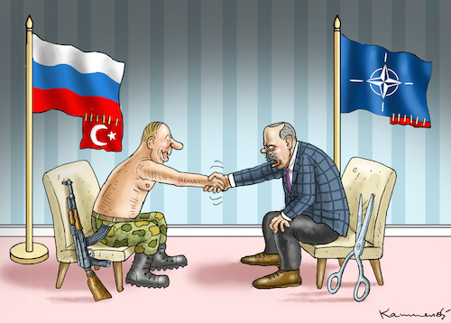 Cartoon: NATO-KUMPEL ERDOWAHN (medium) by marian kamensky tagged afrin,kurden,erdogan,syrien,aramenien,genozid,präsidentenwahlen,türkeiwahlen,kurdistan,trump,is,putin,lybien,afrin,kurden,erdogan,syrien,aramenien,genozid,präsidentenwahlen,türkeiwahlen,kurdistan,trump,is,putin,lybien
