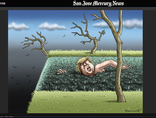 Cartoon: San Jose Mercury News (medium) by marian kamensky tagged san,jose,mercury,news,san,jose,mercury,news