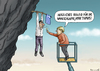 Cartoon: A big Deutschlandfreund Tsipras (small) by marian kamensky tagged alexis,tsipras,griechenlandwahlen