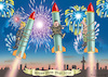 Cartoon: A VERY VERY VERY HAPPY NEW YEAR (small) by marian kamensky tagged obama,trump,präsidentenwahlen,usa,baba,vanga,republikaner,inauguration,demokraten,us,steuer,reform,weihnachten,wikileaks,faschismus