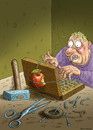 Cartoon: Apple do it your self (small) by marian kamensky tagged steve,job,apple,garten,eden,internet,sündenfall,adam,und,eva