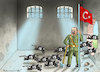 Cartoon: BEFREIER ERDOGAN (small) by marian kamensky tagged afrin,kurden,erdogan,syrien,aramenien,genozid,präsidentenwahlen,türkeiwahlen,kurdistan,trump,is