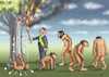 Cartoon: BOLSONAROS DEVOLUTION (small) by marian kamensky tagged jair,bolsonaro,brasilien,präsidentenwahl,faschismus,nationalisms,rechtsradikal,rassistisch,trump,mercosur