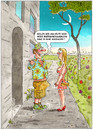 Cartoon: Briefmarkensammler (small) by marian kamensky tagged humor,erotic,sex,valentinstag,frühling,spring,springtime,dating