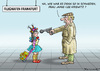 Cartoon: DAS ESC INTERVIEW (small) by marian kamensky tagged eurovision,song,contest,jamie,lee,kriewitz