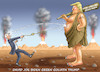 Cartoon: DAVID GEGEN GOLIATH (small) by marian kamensky tagged brexit,theresa,may,england,eu,schottland,weicher,wahlen,boris,johnson,nigel,farage,ostern,seidenstrasse,xi,jinping,referendum,trump,monsanto,bayer,glyphosa,strafzölle,joe,biden