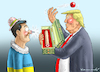 Cartoon: ERSATZNASE FÜR SELENSKYJ (small) by marian kamensky tagged selenskyj,ukraine,rüstungsgeld,trump,wahllampfhilfe,joe,biden,amtsenthebungsverfahren