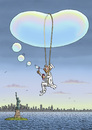 Cartoon: Ferdinand Graf von Zeppelin (small) by marian kamensky tagged graf,von,zeppelin,luftschiff