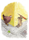 Cartoon: Happy Easter Beaster (small) by marian kamensky tagged humor,ostern,hasen,eier,feiertage
