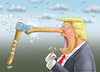 Cartoon: Happy New Year Donald! (small) by marian kamensky tagged obama,trump,präsidentenwahlen,usa,baba,vanga,republikaner,inauguration,demokraten,wikileaks,faschismus,jamal,khashoggi,shutdown