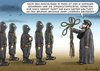 Cartoon: IS MACHT FORTSCHRITTE (small) by marian kamensky tagged hollande,trifft,obama,terroranschlag,in,paris
