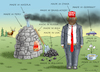 Cartoon: MAKE COAL GREAT AGAIN (small) by marian kamensky tagged obama trump präsidentenwahlen usa baba vanga republikaner inauguration demokraten wikileaks faschismus