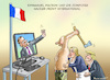 Cartoon: PC HACKER FRONT INTERNATIONAL (small) by marian kamensky tagged putinversteher,assange,emmanuel,macron,le,pen,präsidentenwahl,in,frankreich