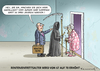 Cartoon: RENTEN AB 70 SICHER (small) by marian kamensky tagged renteneitrittsalter,schäuble,dcu