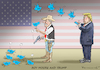 Cartoon: ROY MOORE AND TRUMP (small) by marian kamensky tagged obama,trump,präsidentenwahlen,usa,baba,vanga,republikaner,inauguration,demokraten,roy,moore,and,wikileaks,faschismus