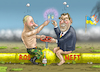 Cartoon: SCHRÖDER BEI ROSNEFT (small) by marian kamensky tagged putin,schröder,rosneft