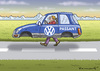 Cartoon: VW PASSANT NULL EMISSIONEN (small) by marian kamensky tagged vw,passant,null,emissionen