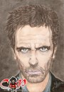 Cartoon: Hugh Laurie (small) by corabiapiratilorgmailcom tagged caricaturi,desene,portrete,corabia,piratilor,hugh,laurie,ion,mihai,alin