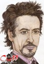 Cartoon: Robert Downey Jr (small) by corabiapiratilorgmailcom tagged caricaturi,desene,portrete,corabia,piratilor