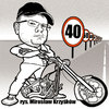 Cartoon: karykatura_32_15 (small) by Krzyskow tagged karykatura