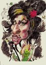 Cartoon: Amy Winehouse (small) by RoyCaricaturas tagged winehouse amy singers famous soul music legends