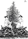 Cartoon: Christmas of warlords (small) by paolo lombardi tagged christmas,war,peace