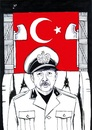 Cartoon: The Fascist (small) by paolo lombardi tagged turkey,democracy,freedom,dictator