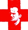 Cartoon: Waney Rooney (small) by paolo lombardi tagged soccerportraitscollection england flag southafrica worldcup2010 soccer football