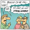 Cartoon: Vklvrrbt (small) by fussel tagged vokal,verbot