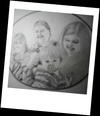 Cartoon: A portrait (small) by Krinisty tagged family,pencil,sketch,fun,krinisty,art