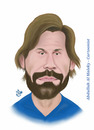 Cartoon: andrea pirlo (small) by abdullah tagged pirlo,italy,juve,juventus,milan,inter,serie