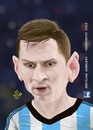 Cartoon: messi (small) by abdullah tagged messi,barcelona,catalone,argentina