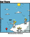 Cartoon: ballooned (small) by George tagged ballooned