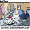 Cartoon: ironing in the crypt (small) by George tagged ironing in the crypt