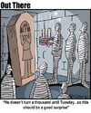 Cartoon: millenium (small) by George tagged millenium