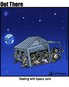 Cartoon: space junk (small) by George tagged space,junk