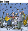 Cartoon: the notes (small) by George tagged the,notes