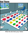 Cartoon: twister (small) by George tagged twister
