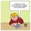 Cartoon: Damenbart (small) by Timo Essner tagged onkel,tante,kind,brief,schreiben,transsexuell,intersexuell,bart,frau,schuldgefühle,kinder